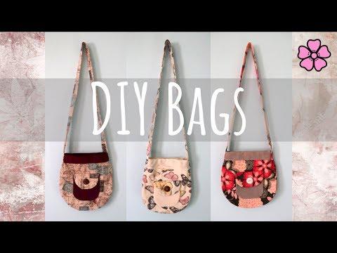 DIY Fabric Bags ♥︎