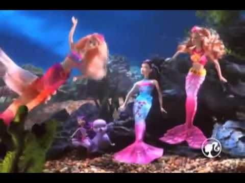 Barbie sirene sirena merliah youtube - Barbie barbie sirene ...