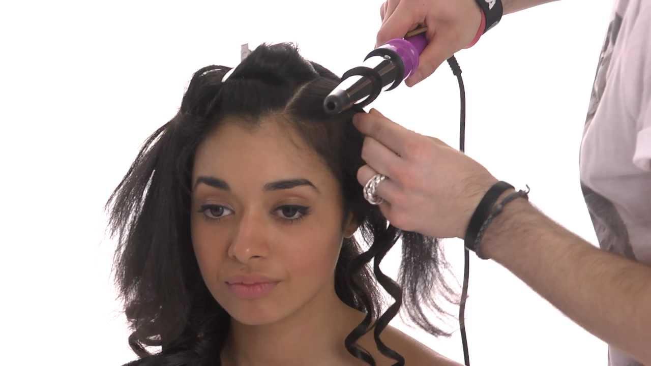 Mash up tutorial capelli ricci con una piastra per for Piastra per capelli mossi