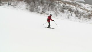Skier's paradise: Snow piling up at Boston Mills/Brandywine
