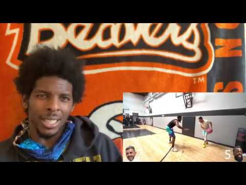 TO MUCH COMPLAINING!! CashNasty vs Brawadis 1v1 Rivalry Basketball Game! (Basketball Coach Reacts)
