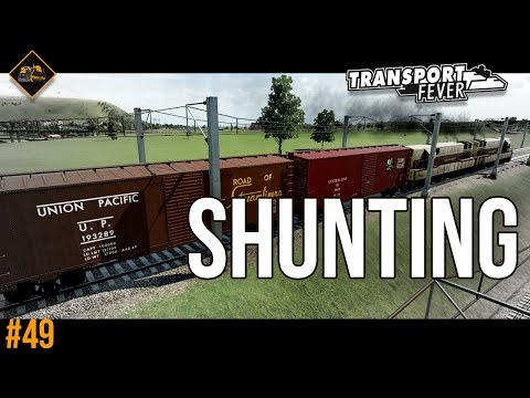 Freight hub shunting service | Transport Fever The Alps #49