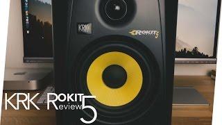 KRK Rokit RP5 G3 Studio Monitore German Review // JRTech [4K]