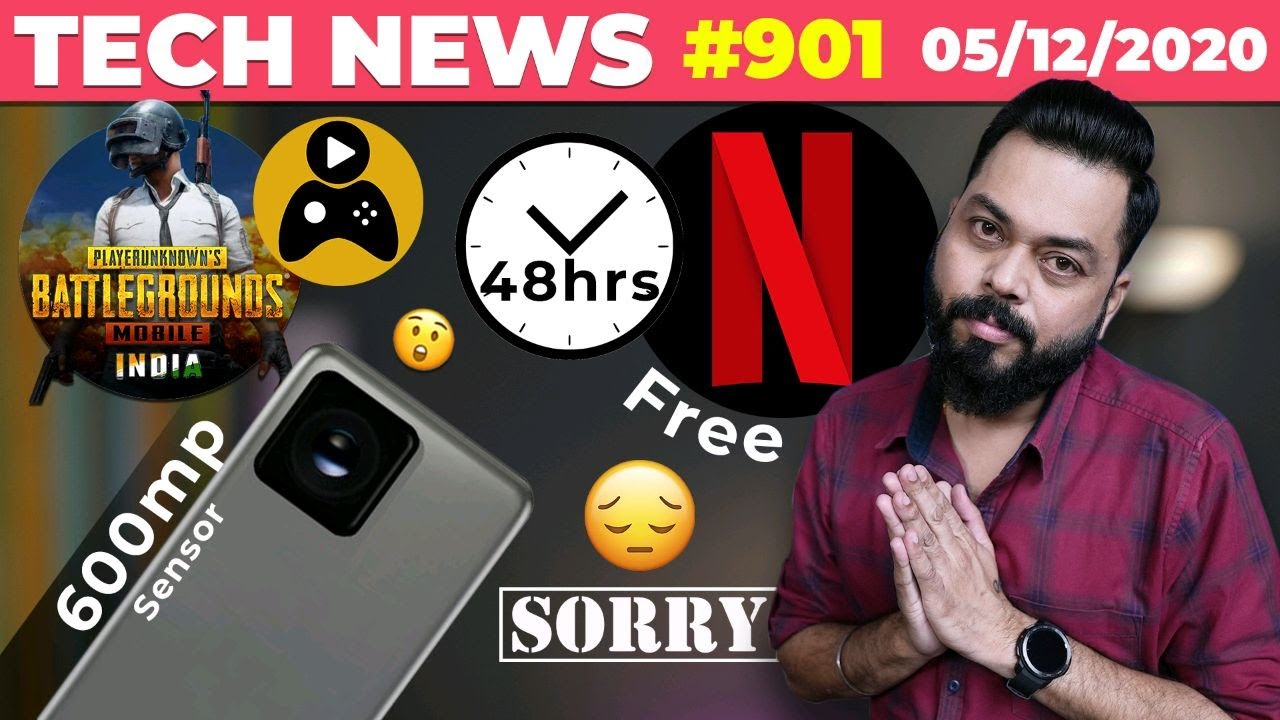 PUBG Mobile India App GamePlay,Free Netflix 48hrs,BIG SORRY TO U, 600MP Sensor,Atrangi Mi 11-TTN#901