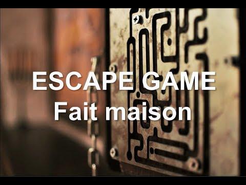 Escape Game fait maison - YouTube