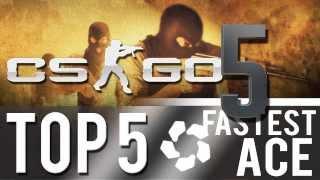 CS:GO - Top 5: FASTEST Ace (#2)