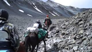 Конный тур по Алтаю: подъём на перевал Кара-Тюрек часть 2(, 2014-02-23T12:10:21.000Z)