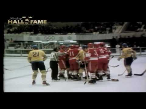 Hockey Hall Of Fame Sverige -  Bert Olov Nordlander