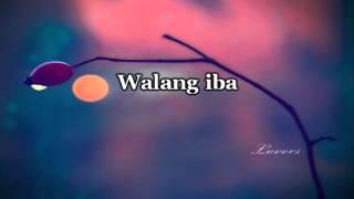 Walang Iba - Ezra Band Karaoke