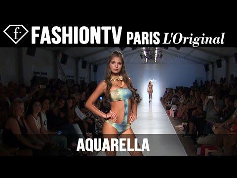 Aquarella Swimwear Show   Miami Swim Fashion Week 2015 Mercedes-Benz   FashionTV