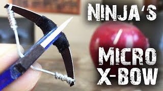 How To Make a Ninja's Micro Crossbow