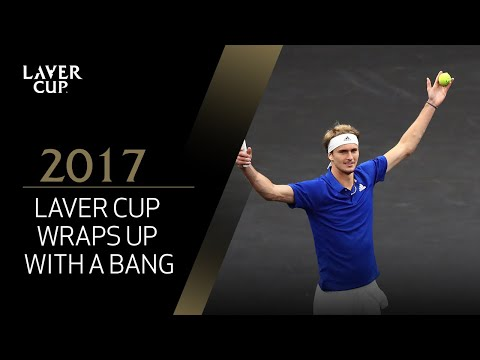 Laver Cup wraps up with a bang | Laver Cup 2017