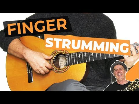 Strumming With Fingers [Easy And Advanced Techniques]