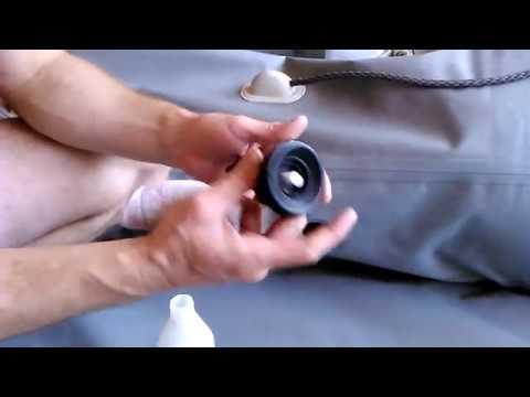 Как заменить клапана на лодке пвх