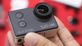 Best Budget Action Camera ? | SJCAM SJ7 STAR 4K WIFI Action Camera UNBOXING / REVIEW