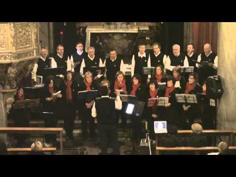 Coro Tre Ponti - Gaudete! - Cantare per il Natale a Casale Corte Cerro 22 dicembre 2012