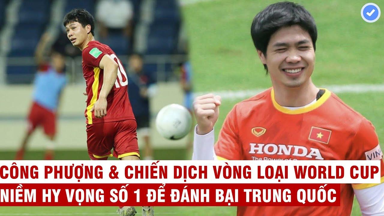 Công Phượng làm bố, thách đố Trung Quốc ở vòng loại World Cup