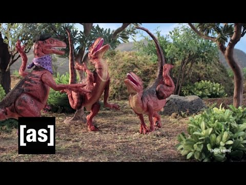 Velociraptor Practice | Robot Chicken | Adult Swim