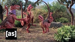 Velociraptor Practice | Robot Chicken | Adult Swim