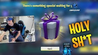 NINJA GETS A SPEACIAL GIFT FROM FORTNITE - Fortnite Battle Royale WTF & Funny Moments Episode. 149