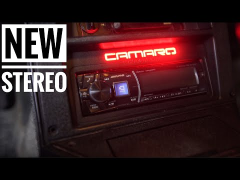Third Gen Camaro Project | Awesome Head Unit Install (Humount) | Episode 13