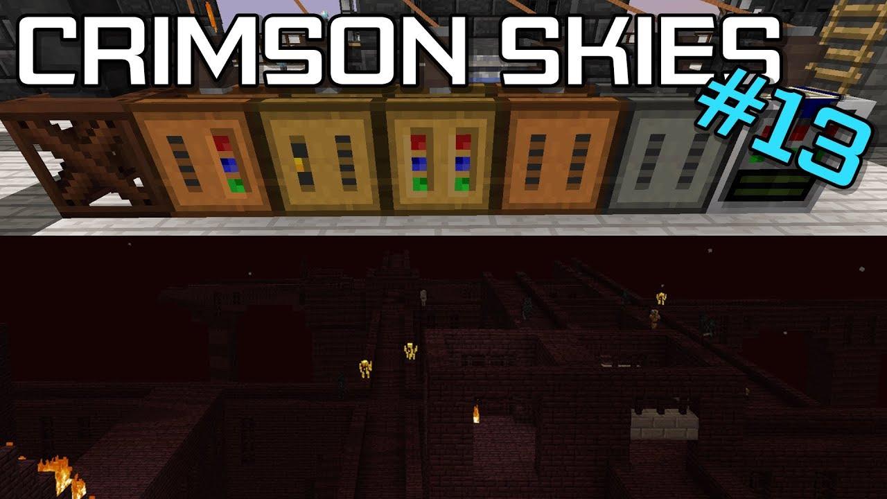 Curse : Crimson Skies Server Hosting | StickyPiston Hosting