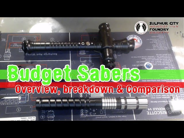 Budget Chinese Lightsabers | Overview | Breakdown | Comparison