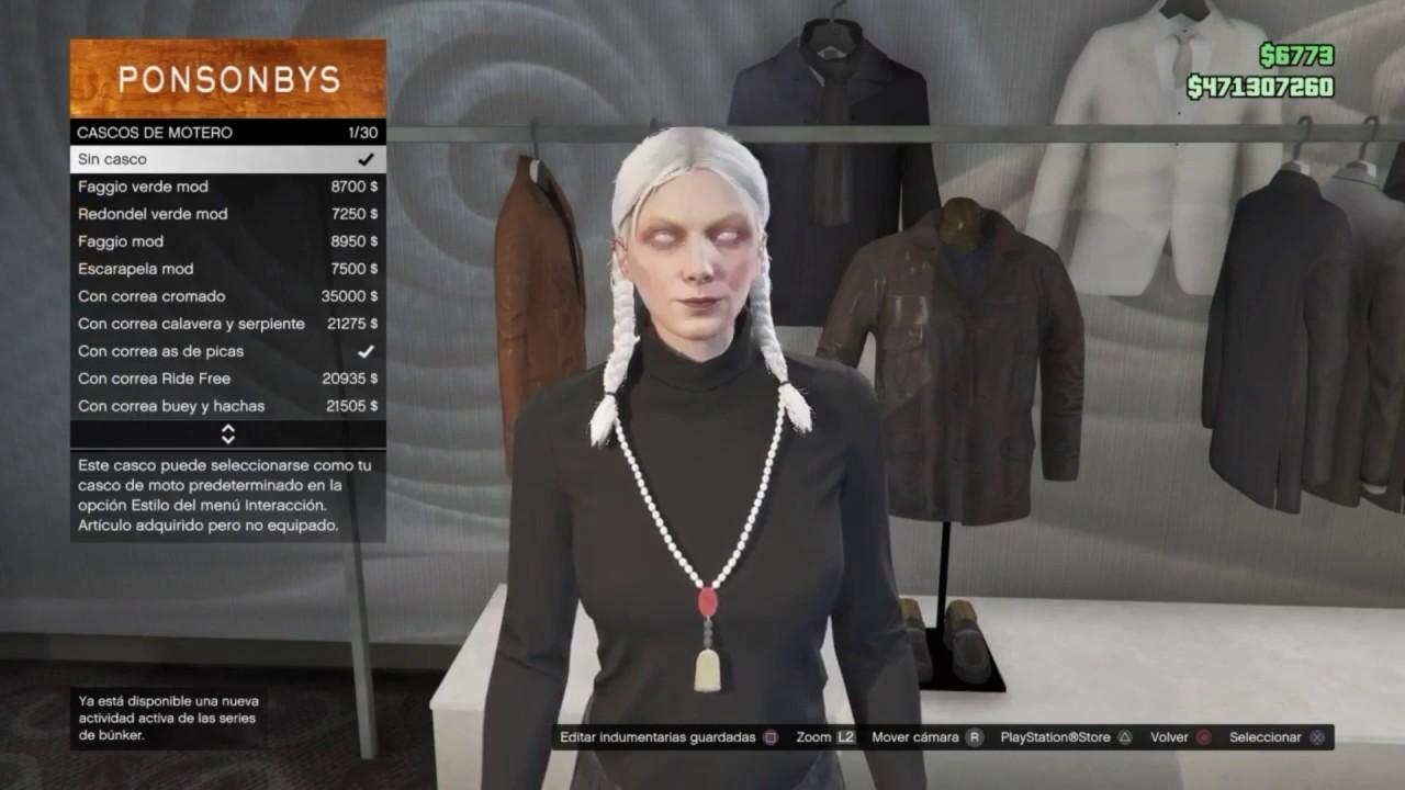 Gta v online conjunto modeado sin hacks personaje for Cuarto personaje gta 5