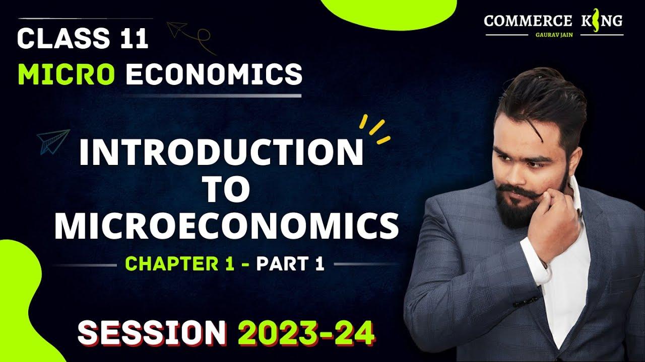 #1, Central problem of an economy | Micro economics | Class 11 | Class 12
