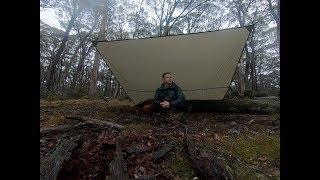 Thunderstorm in an Australian forest