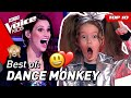 The best DANCE MONKEY covers in The Voice Kids! 🐵❤️ | Top 5