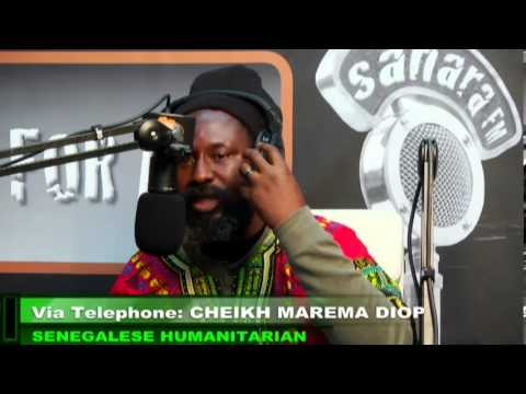 Conscious Vybz/ FACE TIME WITH CHEIKH MAREMA DIOP/  Nov 20 2013