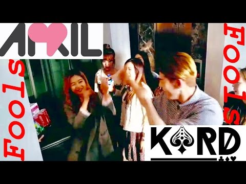 K.A.R.D and (에이프릴) April Fooled by DSP