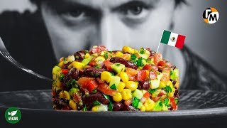 Mexican Black Bean Salad | Healthy & Easy Salad Recipe - Hungry Guy Recipes, #215