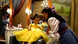Bibbidi Bobbidi Boutique Princess Transformation