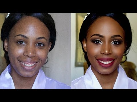 AFRICAN WEDDING | Bridal Make-up Tutorial | Miss.Cameroon