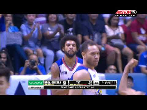 PBA Governors' Cup 2017 Highlights: Barangay Ginebra vs TNT Oct. 6, 2017