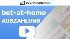 Bet-at-home Auszahlung