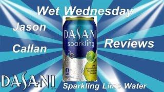 Dasani lime sparkling water