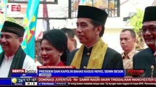 Presiden Akan Panggil Kapolri Bahas Perkembangan Kasus Novel