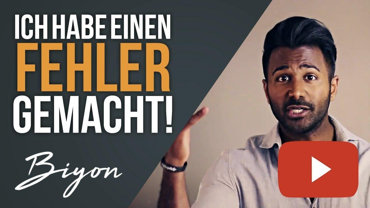ICH HABE EINEN FEHLER GEMACHT!!