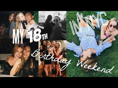 My 18th Birthday Weekend Vlog in NYC: Catch, Brunch in Chelsea, the Highline... | Kaela Kilfoil