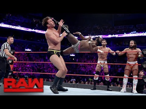Alexander, Swann, Ali & Metalik vs. Dar, Nese, Daivari & Gulak: Raw, Aug. 21, 2017