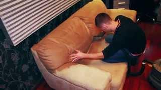Химчистка мягкой мебели от