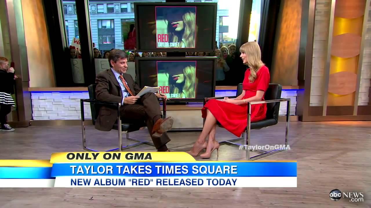 Good Morning America Intruder Interview : Taylor swift good morning america interview for quot red