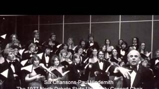 Six Chansons-Paul Hindemith