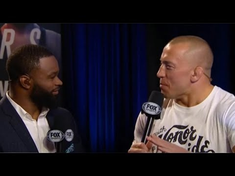 Georges St Pierre on Robert Whittaker: I Have No Intention of Holding onto Title, Freezing Division