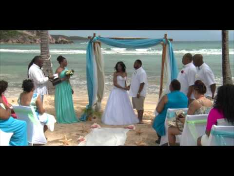 Monique & David Wedding at Bolongo Bay Resort St Thomas Virgin Islands