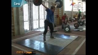 В Сочи тренируются тяжелоатлеты