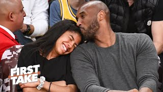 Max Kellerman admired Kobe Bryant's 'beautiful' relationship with Gianna | First Take